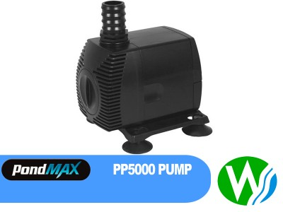 Pondmax pu16000 filtration waterfall pump the watershed for Water feature filter system