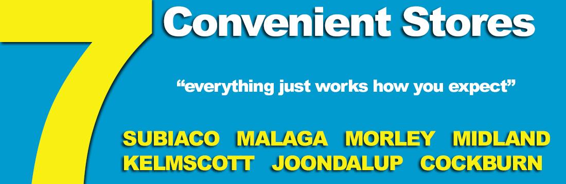 7 Convenient Stores