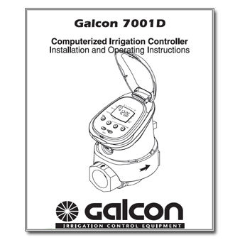 Galcon 7001D Controller Manual Download