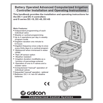 galcon tap timer instructions