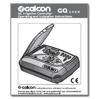 Galcon GQ AC Series Controller Manual