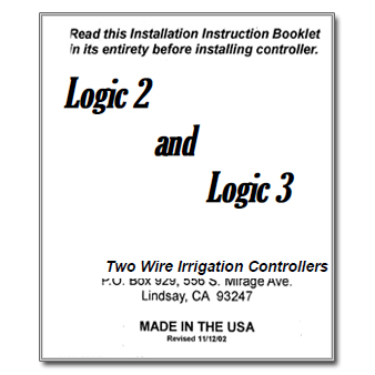 HIT Logic 2 and 3 Controller Manual