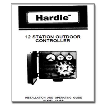 Hardie 412PR Controller Manual