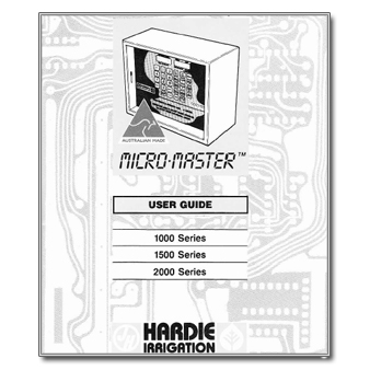 Hardie Micro Master Manual