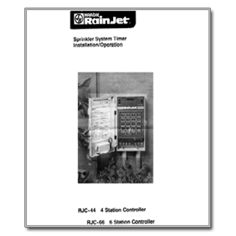 Hardie RainJet RJC44 Controller Manual