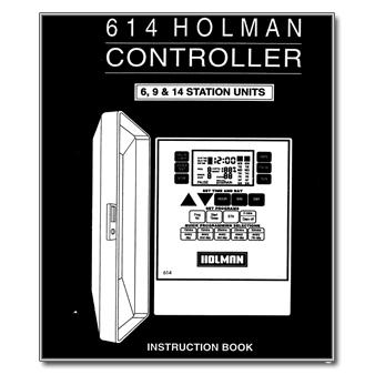 Holman 614 Controller Manual