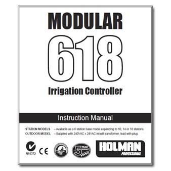 Holman 618 Modular Controller Manual
