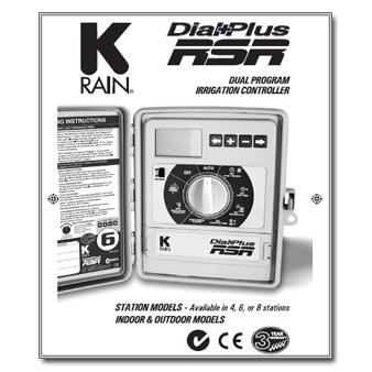 Holman K-Rain Dial Plus RSR manual
