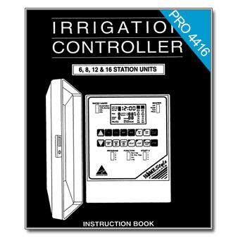 Holman PRO 4416 Controller Manual