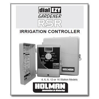 Holman Dial Ezy Gardener RSR Manual