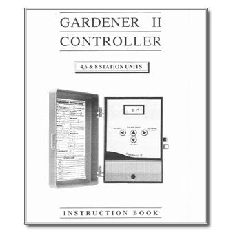 Gardener II Controller Manual
