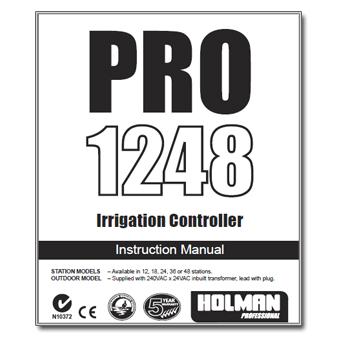 Holman PRO 1248 Controller Manual
