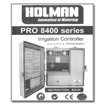 Holman PRO 8400 Series Manual