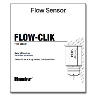 Hunter Flow Click Flow Sensor Manual