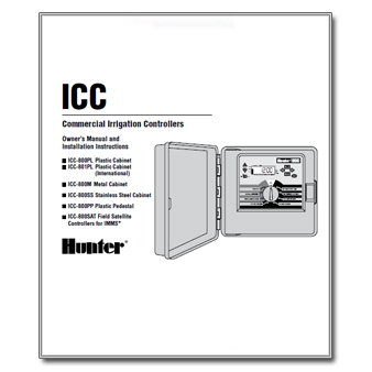 Hunter ICC Commercial Controller Manual