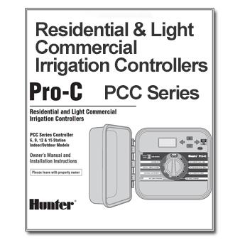 Hunter Pro-C PCC Series Manual