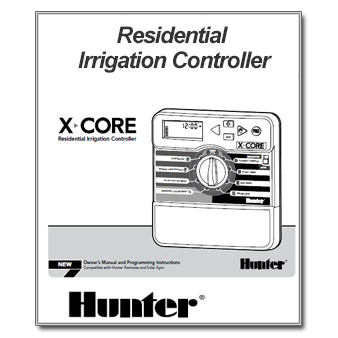 Hunter X-Core Controller Manual