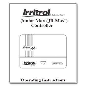 Irritrol Junior MAX Controller Manual