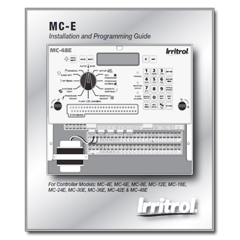 Irritrol MC-E - The Watershed OFFICIAL CONTROLLER MANUALS LIBRARY