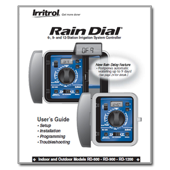 Irritrol Rain Dial Version 1 1 - The Watershed OFFICIAL CONTROLLER