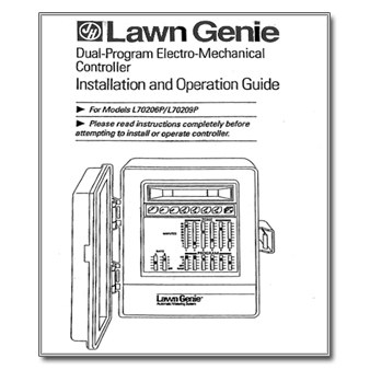 Lawn Genie L70206P 9P Controller Manual lawn genie r416lcd lg the watershed official controller manuals  at fashall.co