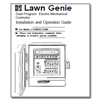 Lawn Genie L71206P Controller Manual lawn genie l71206p the watershed official controller manuals library  at fashall.co
