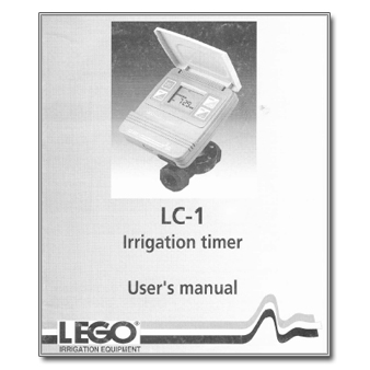 Lego LC-1 Irrigation Timer Controller Manual
