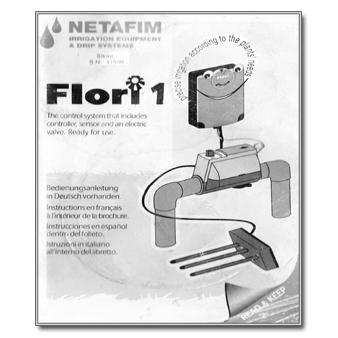 Netafim Flori 1 - The Watershed OFFICIAL CONTROLLER MANUALS