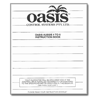 Oasis Aussie 4 to 8 Controller Manual