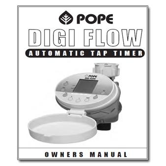 Pope Digi Flow Controller Manual