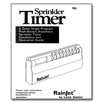 Rainjet RJ6 Controller Manual rainjet rj6 the watershed official controller manuals library  at fashall.co