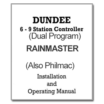 Rainmaster-6-9-Dual program controller manual