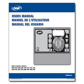 Orbit Super Dial Controller Manual