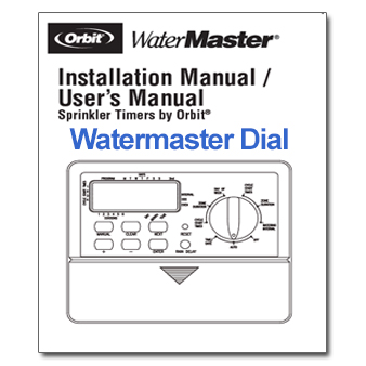 Orbit Watermaster Dial Controller Manual