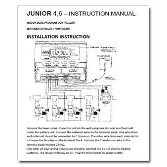 Pope Junior Controller Manual