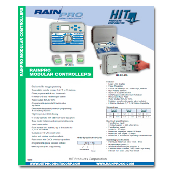 Rain Pro Modular Controller Manual