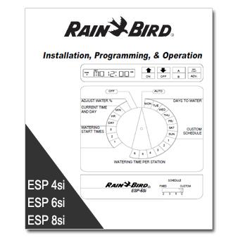 Rainbird ESPsi Controller Manual