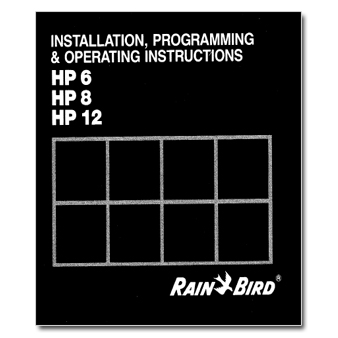 Rainbird HP Series Controller Manual