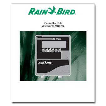 Rainbird MDC 50-200 Controller Manual