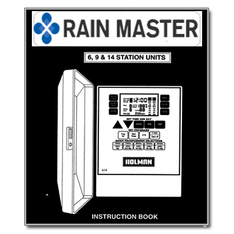 Rainmaster 3414 Controller Manual