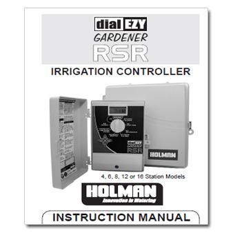 Rainmaster Dial EZY RSR Controller Manual
