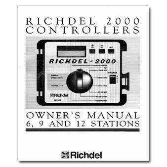Richdel 2000 Series Controller Manual