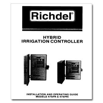 Richdel 476PR 476PRI Hybrid Controller Manual