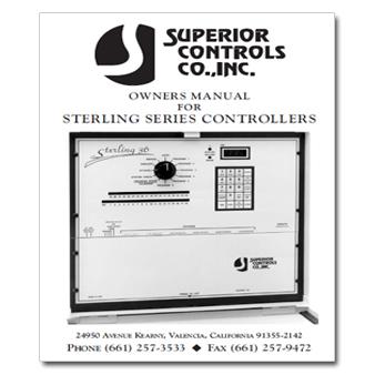 Superior Controls Stirling 36 Controller Manual