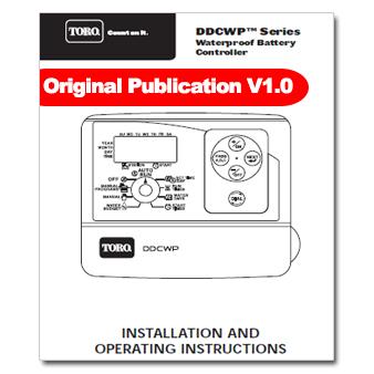 Toro DDCWP Controller Manual