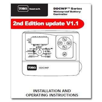 Toro DDCWP Controller Manual 2nd publication V1.1