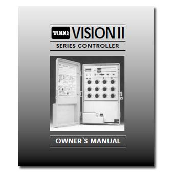 Toro Vision II Controller Manual