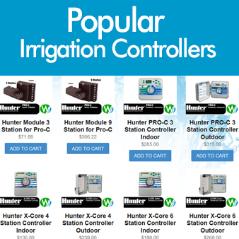 Popular irrigation Controllers