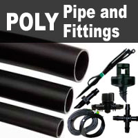 Poly Pipe & Fittings