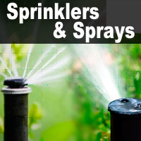 Sprinklers & Sprays